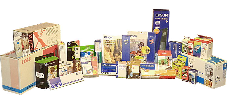 Consumables - Paper, Inkjet Cartridges, Toner Cartridges, Ribbons and more . . .